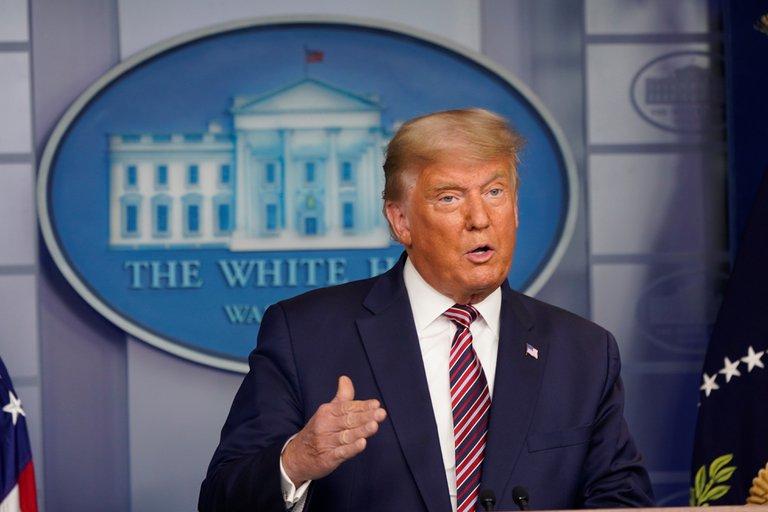 """Donald Trump aseguró que la semana que viene comenzarán a llegar resultados de las elecciones e insistió: """"¡Vamos a ganar!"""""""